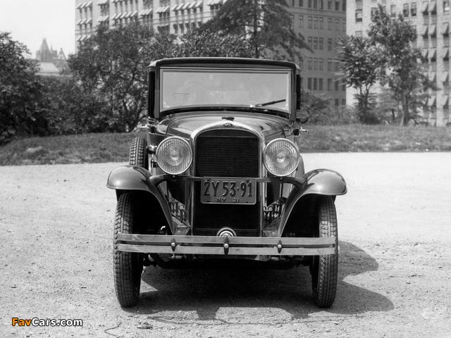 Photos of Opel 1.8 Liter Saloon 1931–33 (640 x 480)