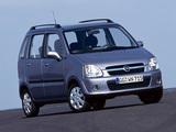 Opel Agila (A) 2004–07 images