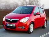 Opel Agila ecoFLEX (B) 2009 wallpapers