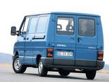 Pictures of Opel Arena Van 1998–2000