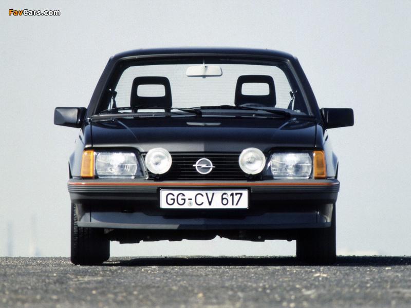 Images of Opel Ascona Sport (C1) 1984 (800 x 600)