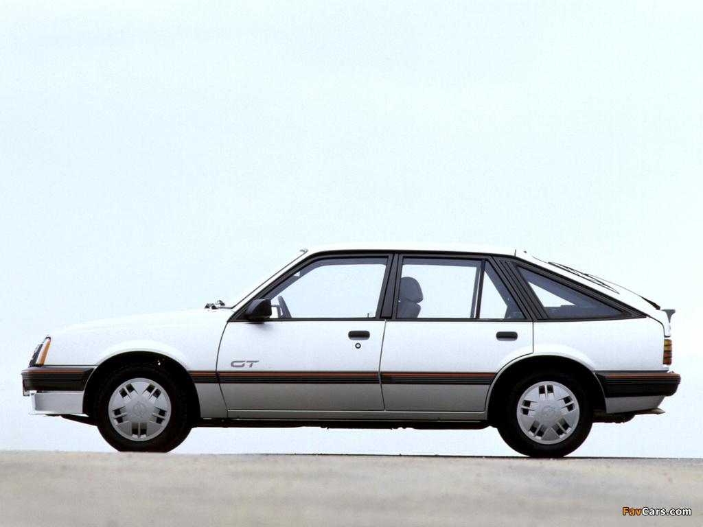 Images of Opel Ascona CC GT (C2) 1984–86 (1024 x 768)
