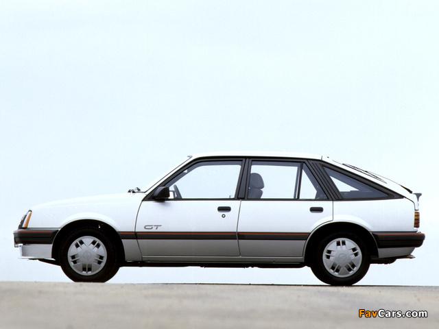 Images of Opel Ascona CC GT (C2) 1984–86 (640 x 480)