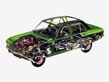 Opel Ascona Sedan (A) 1970–75 photos