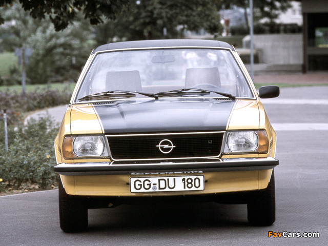 Opel Ascona SR (B) 1975–81 wallpapers (640 x 480)