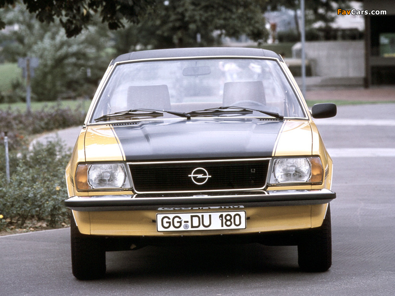 Opel Ascona SR (B) 1975–81 wallpapers (800 x 600)