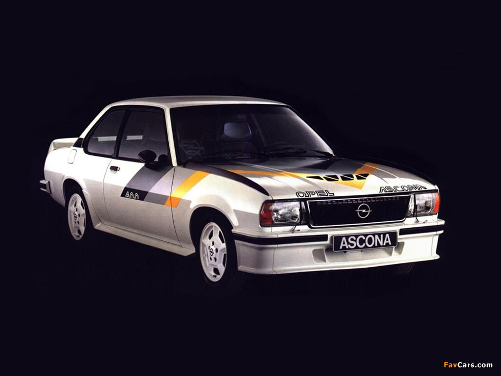 Opel Ascona 400 (B) 1979–81 images (1024 x 768)