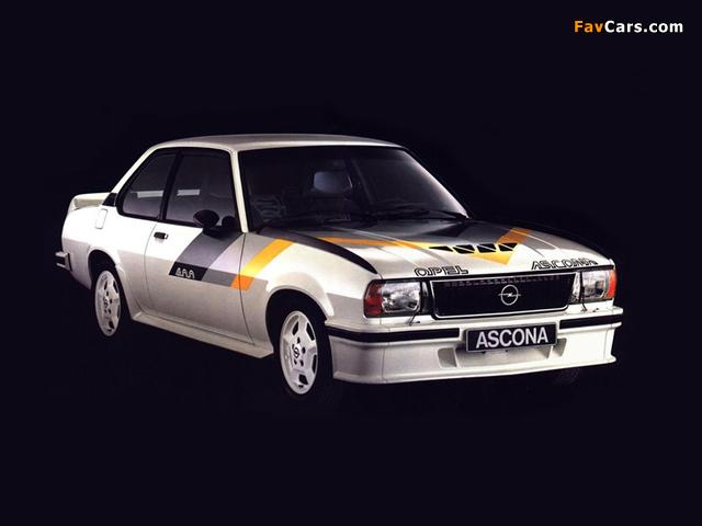 Opel Ascona 400 (B) 1979–81 images (640 x 480)