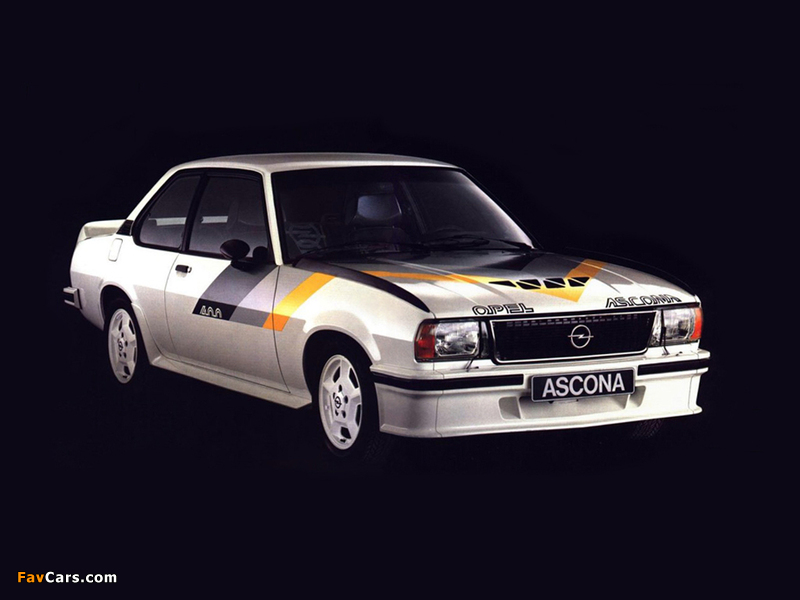Opel Ascona 400 (B) 1979–81 images (800 x 600)