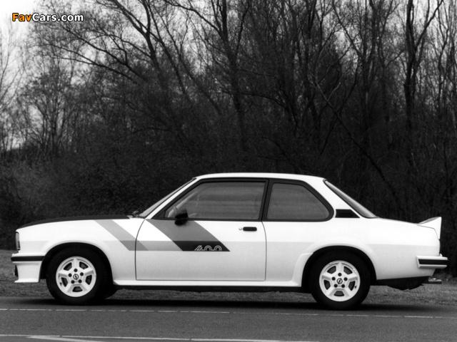 Opel Ascona 400 (B) 1979–81 pictures (640 x 480)