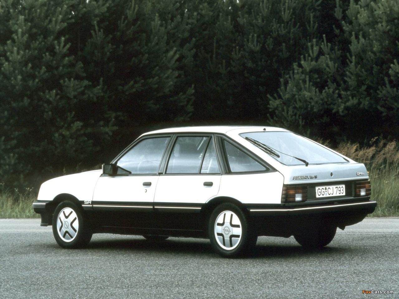 Opel Ascona CC SR (C1) 1981–84 images (1280 x 960)