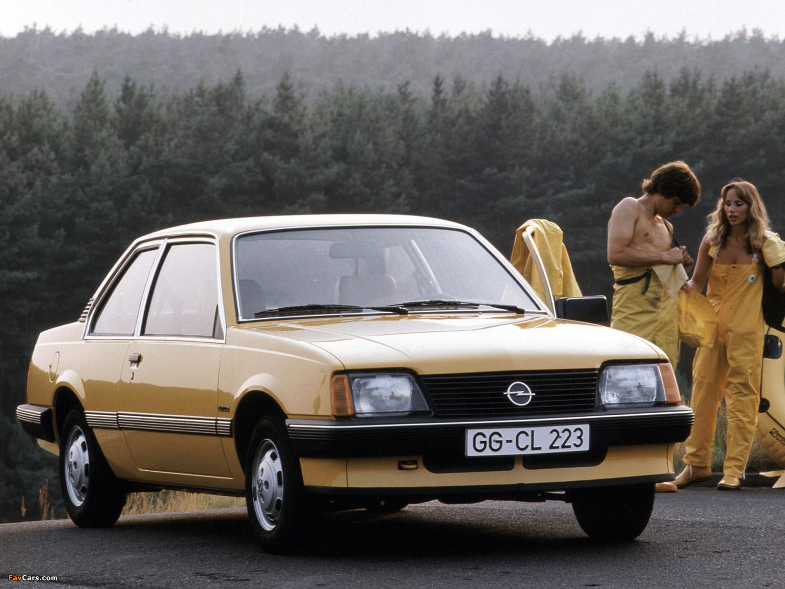 Opel Ascona 2-door (C1) 1981–84 images (1600 x 1200)