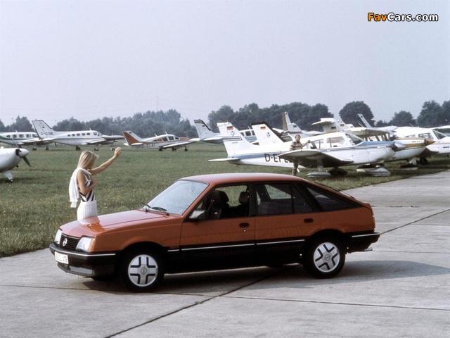 Opel Ascona CC SR (C1) 1981–84 photos (640 x 480)
