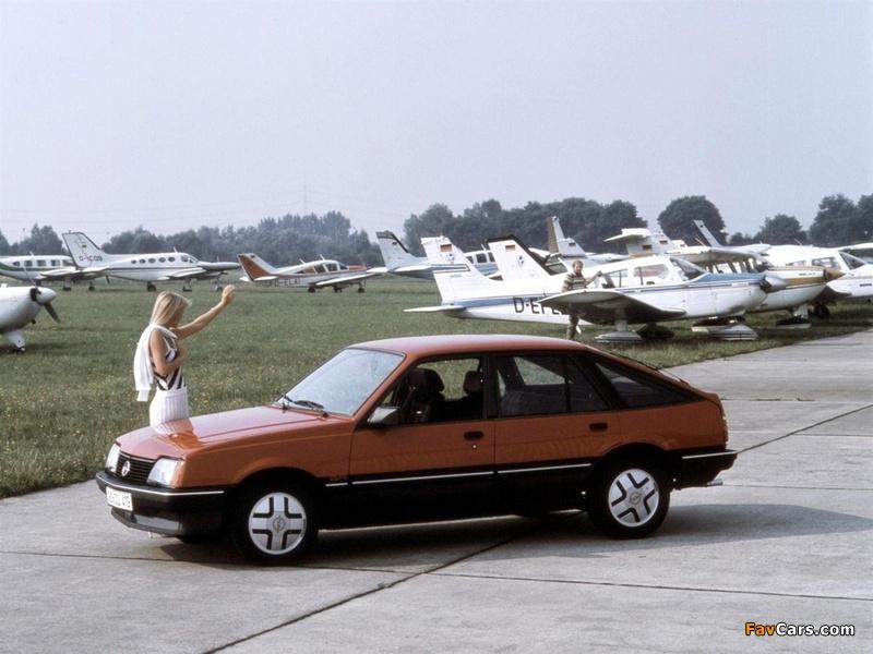 Opel Ascona CC SR (C1) 1981–84 photos (800 x 600)