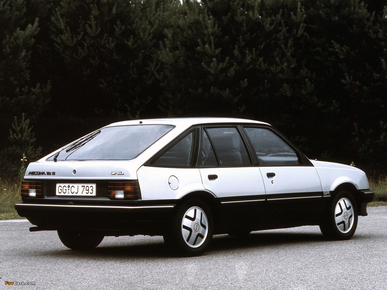 Opel Ascona CC SR (C1) 1981–84 pictures (1280 x 960)