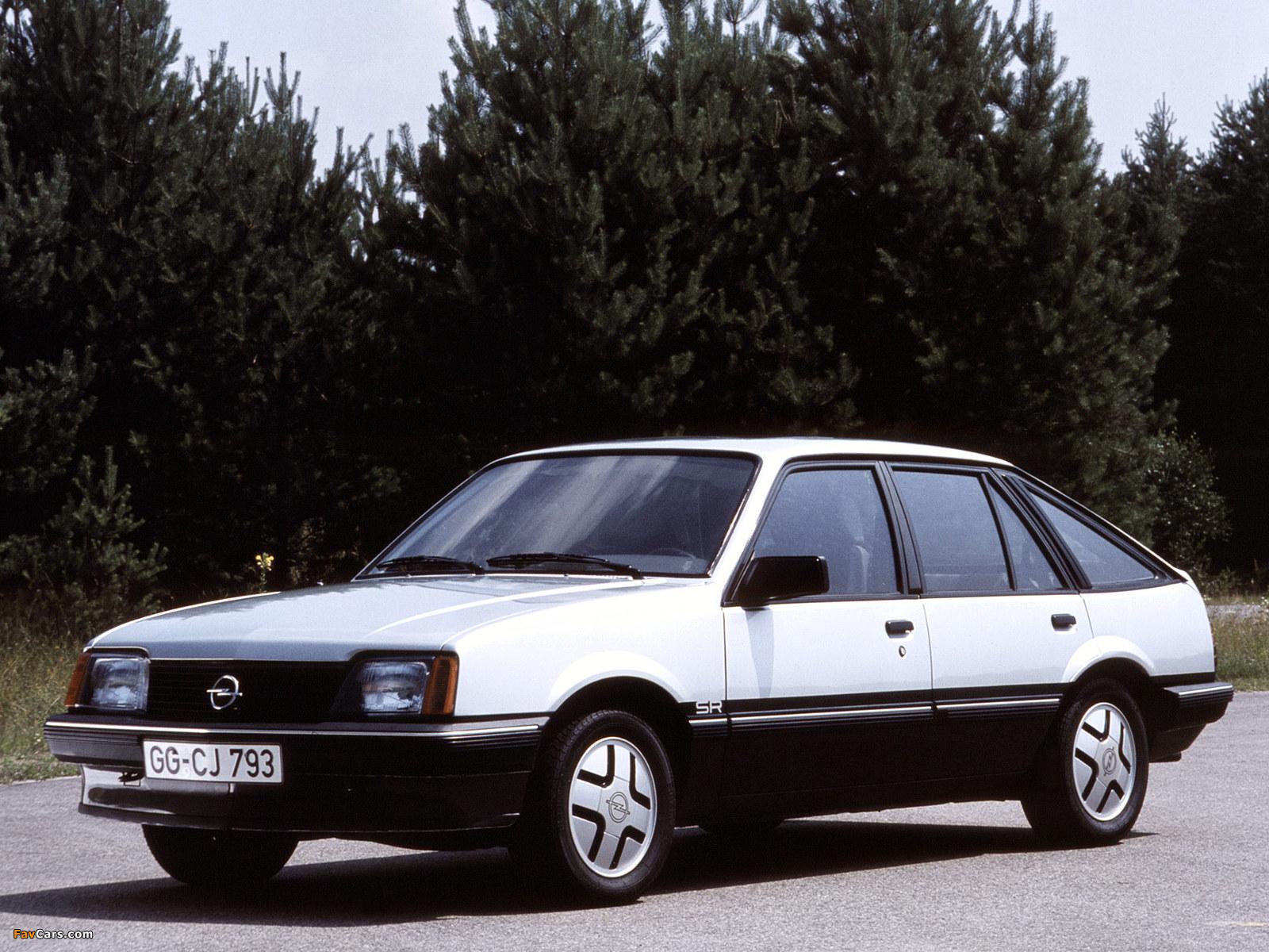 Opel Ascona CC SR (C1) 1981–84 pictures (1600 x 1200)