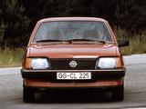Photos of Opel Ascona (C1) 1981–84