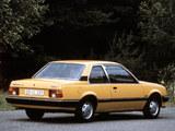 Photos of Opel Ascona 2-door (C1) 1981–84