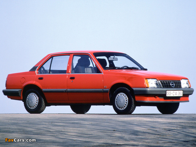 Photos of Opel Ascona (C2) 1984–86 (640 x 480)