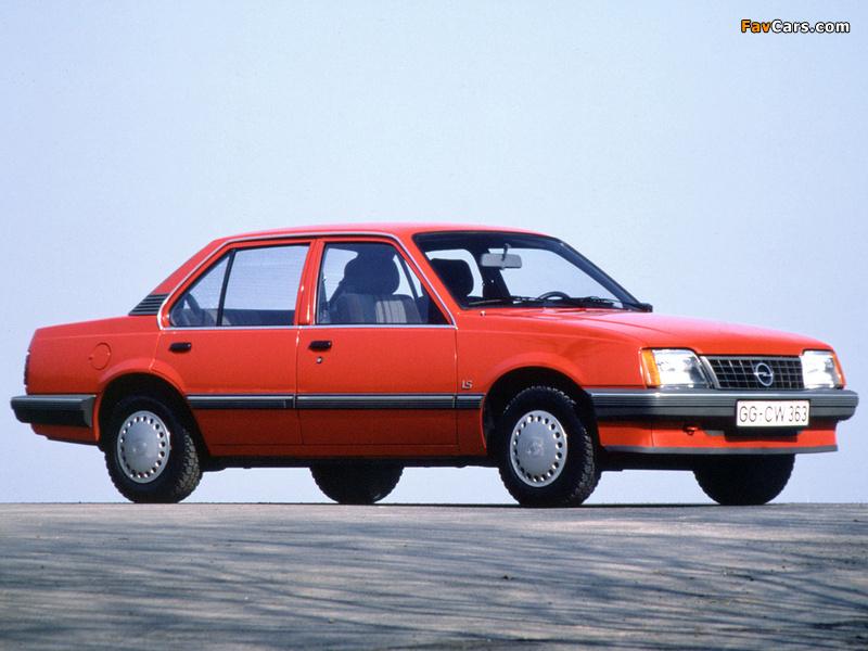 Photos of Opel Ascona (C2) 1984–86 (800 x 600)