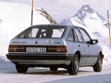 Photos of Opel Ascona CC (C3) 1986–88