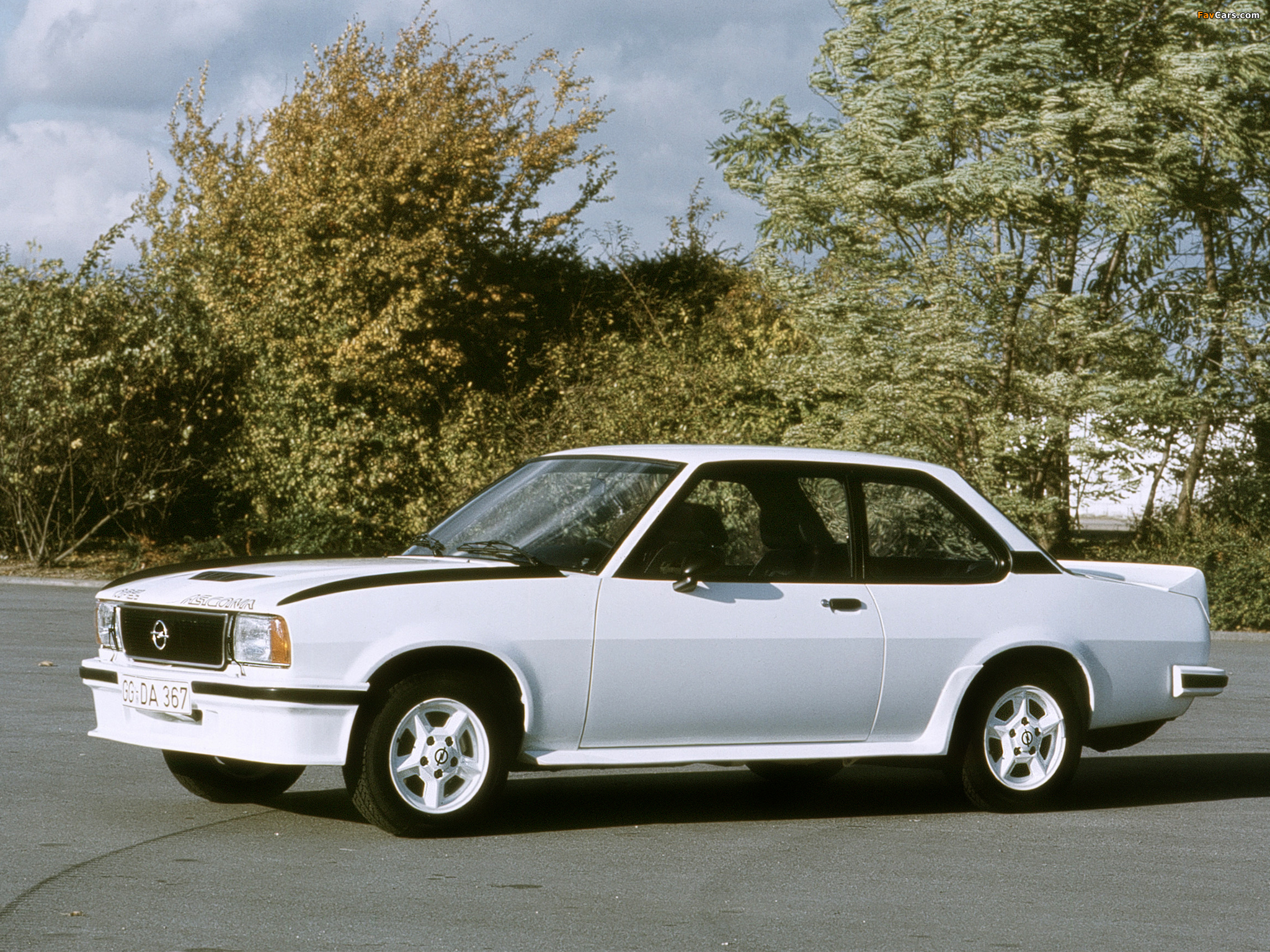Pictures of Opel Ascona 400 (B) 1979–81 (2048 x 1536)
