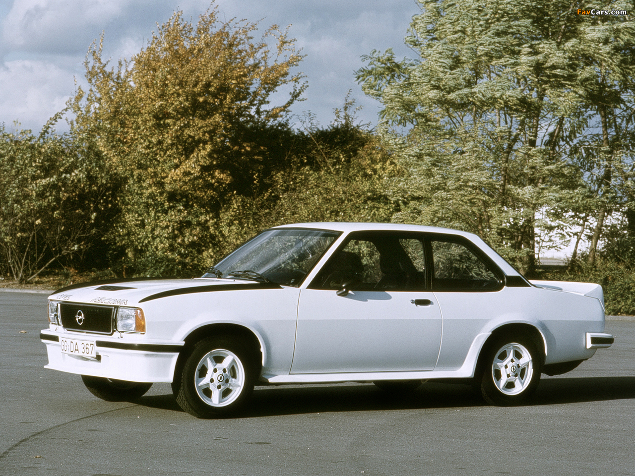 Pictures of Opel Ascona 400 (B) 1979–81 (1280 x 960)