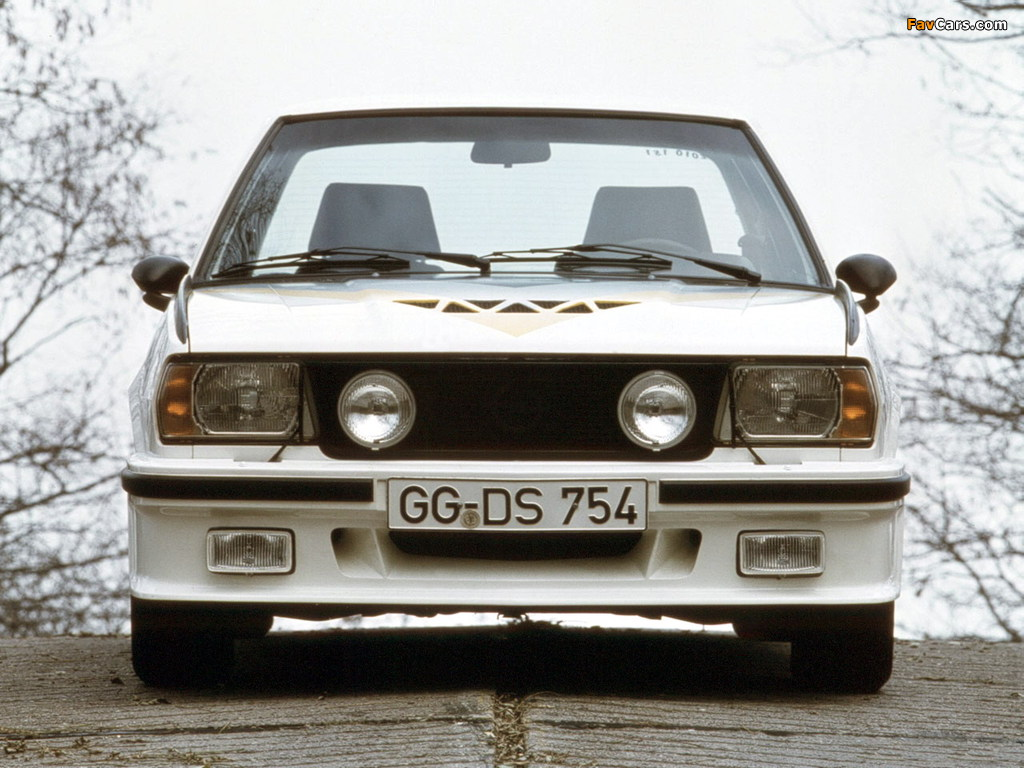Pictures of Opel Ascona 400 (B) 1979–81 (1024 x 768)