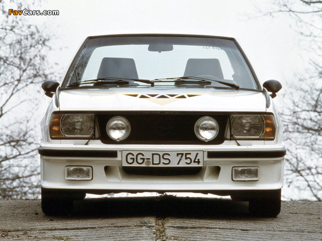Pictures of Opel Ascona 400 (B) 1979–81 (640 x 480)