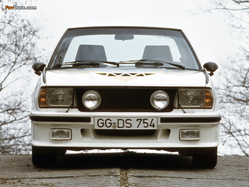 Pictures of Opel Ascona 400 (B) 1979–81 (800 x 600)