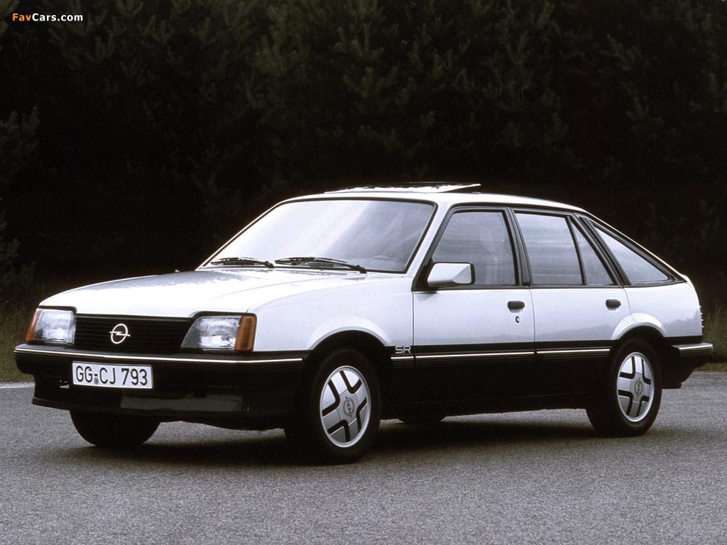 Pictures of Opel Ascona CC SR (C1) 1981–84 (1024 x 768)