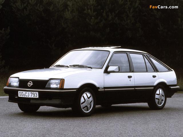 Pictures of Opel Ascona CC SR (C1) 1981–84 (640 x 480)