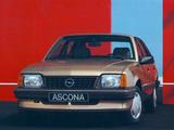 Pictures of Opel Ascona CC (C2) 1984–86