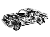 Pictures of Opel Ascona B400 Rally Version (B)