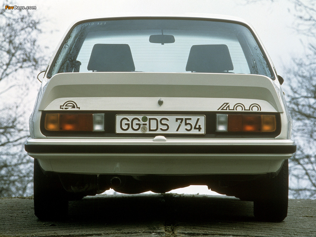 Opel Ascona 400 (B) 1979–81 wallpapers (1024 x 768)