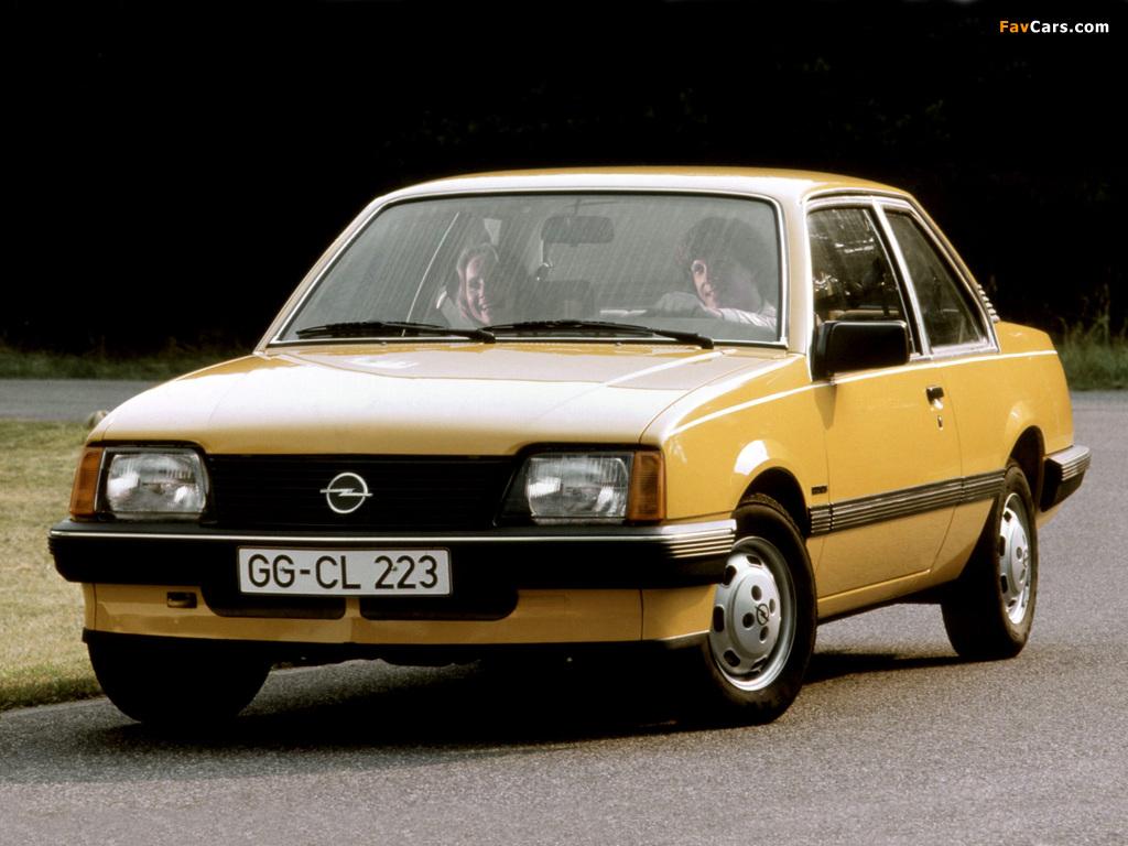 Opel Ascona 2-door (C1) 1981–84 wallpapers (1024 x 768)