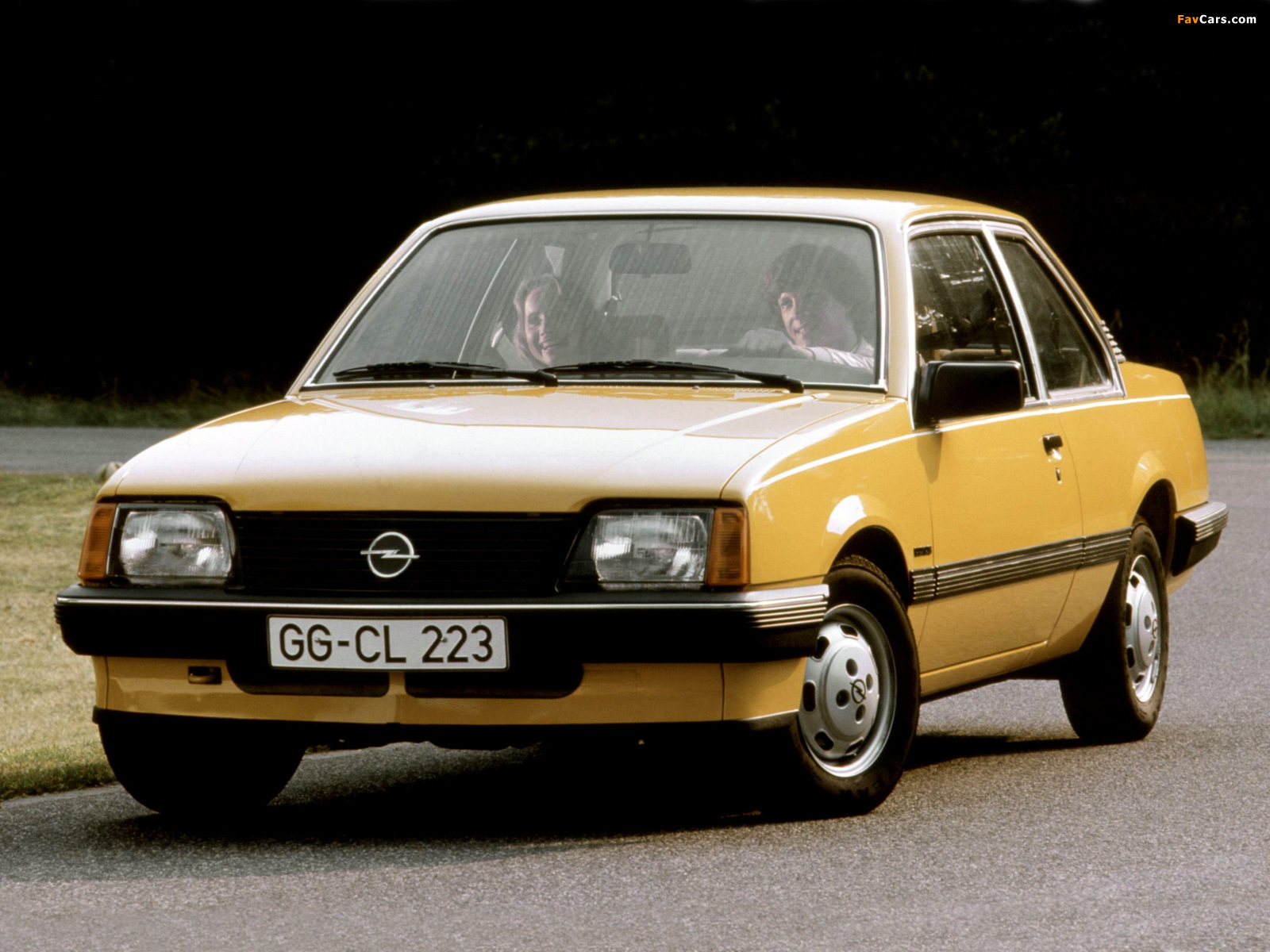 Opel Ascona 2-door (C1) 1981–84 wallpapers (1600 x 1200)