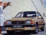 Opel Ascona CC CD (C2) 1984–86 wallpapers