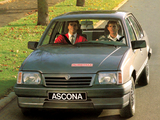 Opel Ascona Fahrschule (C3) 1986–88 wallpapers