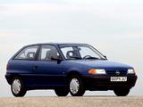 Images of Opel Astra 3-door (F) 1991–94