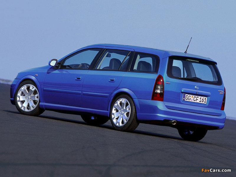 Images of Opel Astra OPC Caravan (G) 2002–04 (800 x 600)