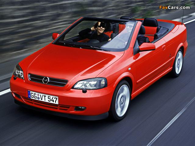 Images of Opel Astra Cabrio Linea Rossa (G) 2003–04 (640 x 480)