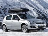 Images of Opel Astra Hatchback (H) 2007