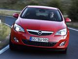 Images of Opel Astra 5-door (J) 2009