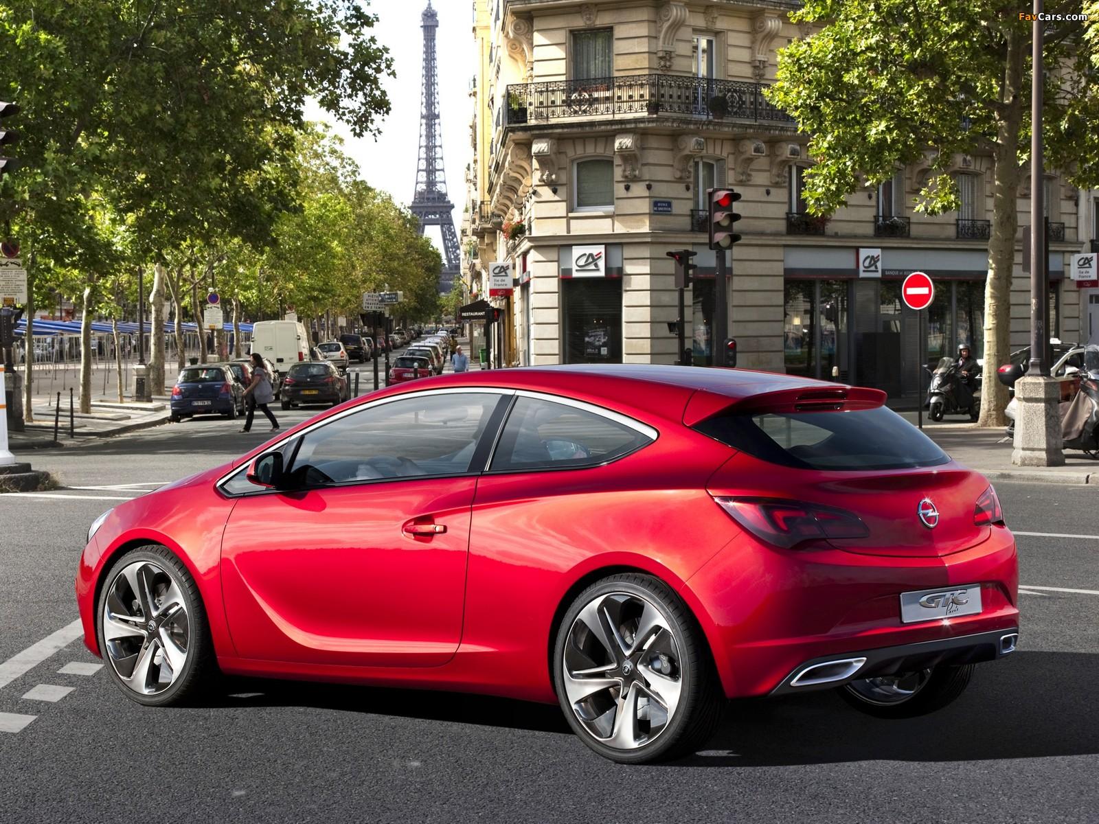 Images of Opel GTC Paris Concept 2010 (1600 x 1200)