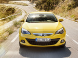 Images of Opel Astra GTC (J) 2011