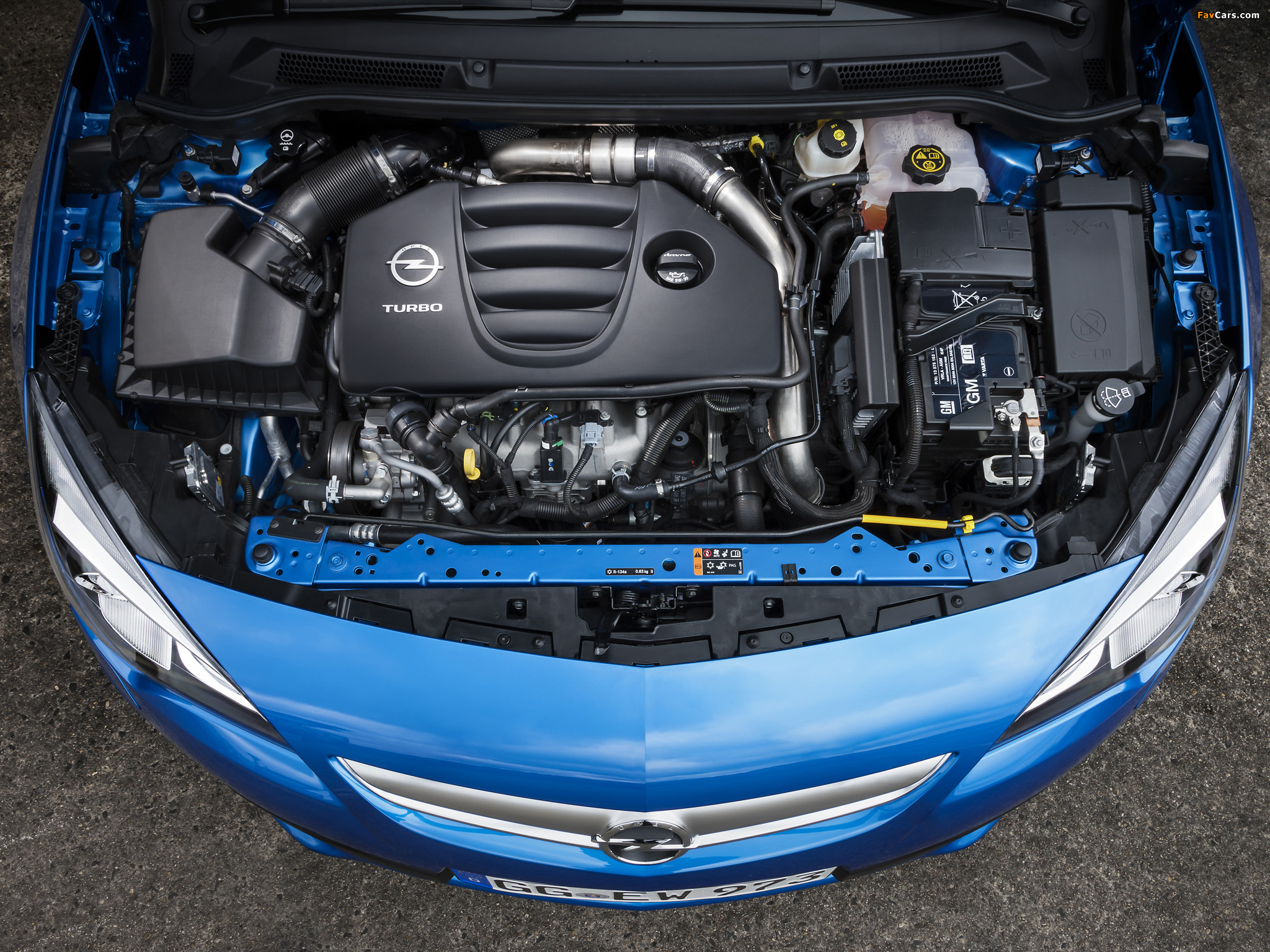 Images of Opel Astra OPC (J) 2011 (2048 x 1536)