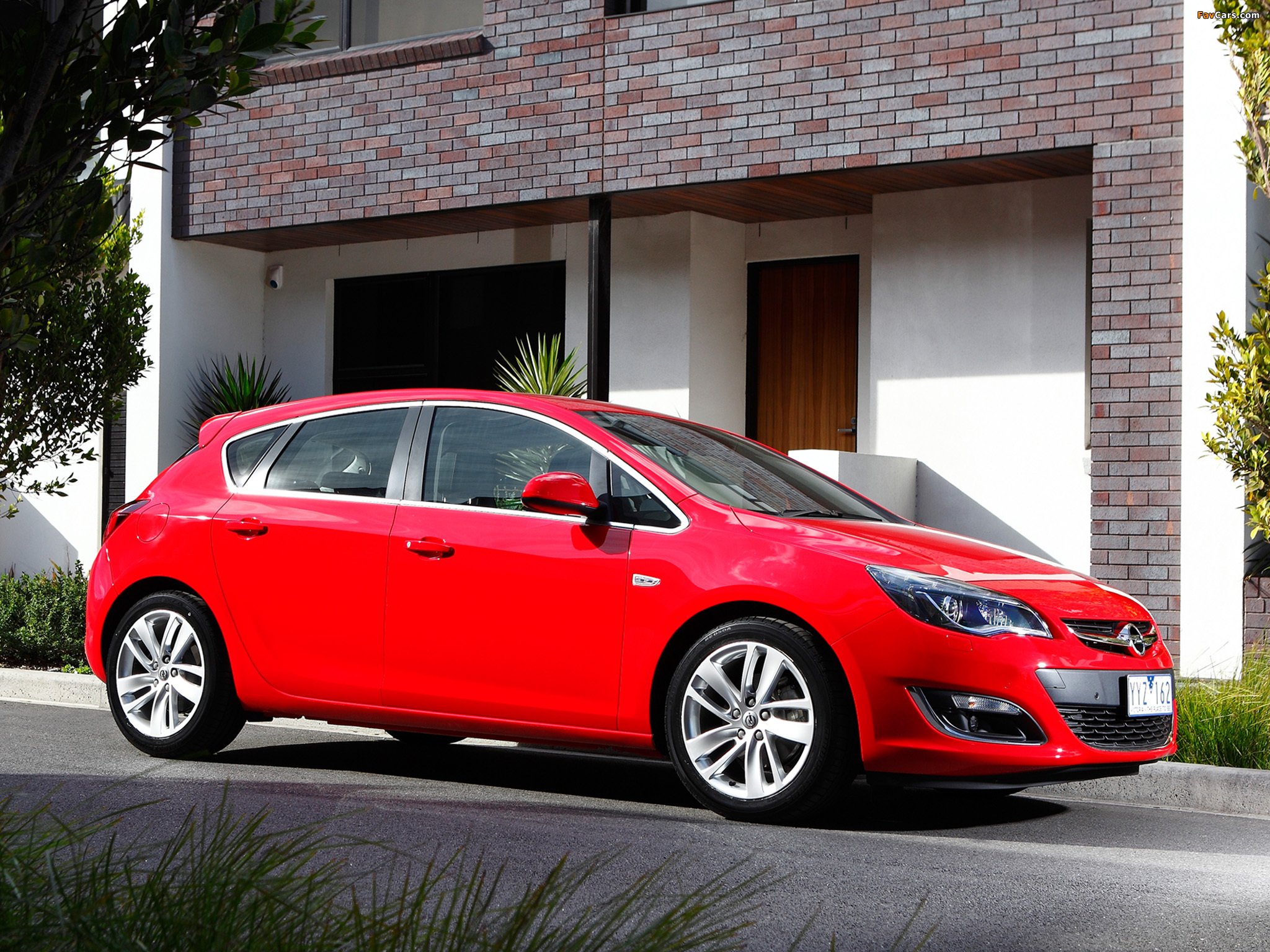 Images of Opel Astra AU-spec (J) 2012–13 (2048 x 1536)
