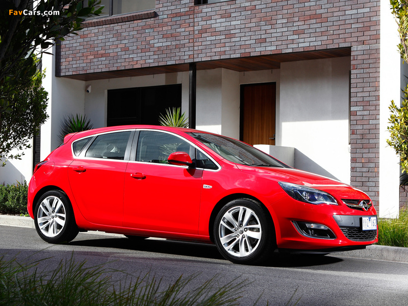 Images of Opel Astra AU-spec (J) 2012–13 (800 x 600)