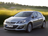 Images of Opel Astra ecoFLEX (J) 2013